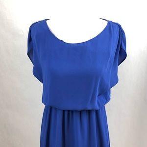 Lush Ladies Royal Blue Dress Size Small